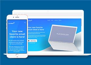191号蓝色版移动软件开发公司网站建设,APP以及小程序开发,商城电商平台制作