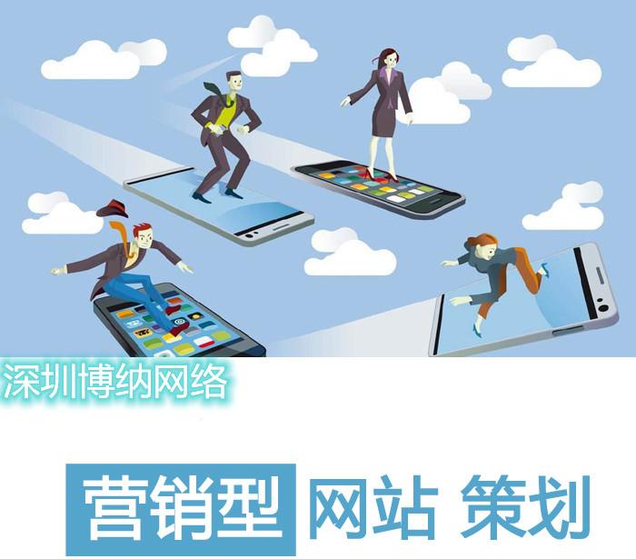 深圳营销型网站制作该如何策划?