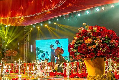 百合婚庆行业网站设计作案例