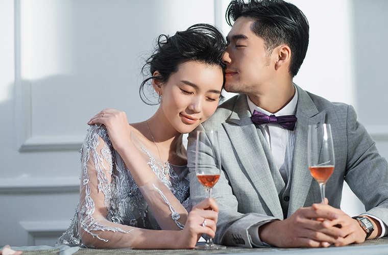 久爱婚纱摄影行业网站设计作案例